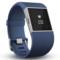 Fitbit Surge 智能乐活手环 GPS全球定位 心率实时检测 多项运动模式 智能手表 蓝色L产品图片4