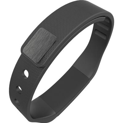 全程通 QCT-W2 智能手环 智能腕带 计步器 来电提醒 微信提示 触控屏幕 运动健康手环 黑色产品图片3