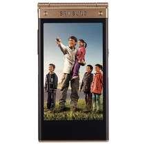 三星 W2014 16GB 电信版3G手机(双卡双待/金色)产品图片主图