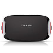 灵镜小白 3D虚拟现实眼镜 VR眼镜头盔 带手柄 可调瞳距 灵镜小白