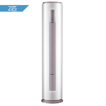 美的  2匹 京东智行 圆柱式冷暖定频空调 KFR-51LW/DY-YA400(D3)(陶瓷白)产品图片主图