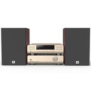 JBL MS802 Hi-Fi  迷你音响 电视音箱音响 家庭影院 USB/CD播放机FM收音机蓝牙音箱 苹果闪电接口(香槟金)