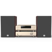 JBL MS802 Hi-Fi  迷你音响 电视音箱音响 家庭影院 USB/CD播放机FM收音机蓝牙音箱 苹果闪电接口(香槟金)产品图片主图