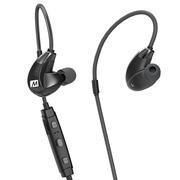 迷籁 X7Plus专业蓝牙运动耳机 无线后挂式通话耳机 5级防水耐汗 黑色