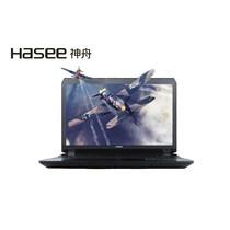 神舟 战神G8-SL7S2 17.3寸笔记本电脑(I7-6700HQ 16G 512G SSD GTX980M Win10)黑色产品图片主图