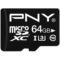 PNY microSDHC/SDXC 64G C10 UHS-1 U3高速存储卡产品图片1