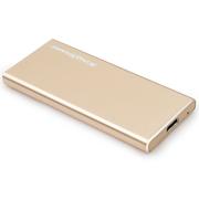 金胜 S8系列 240G TYPE-C USB3.0固态移动硬盘 金色 (KS8240G)