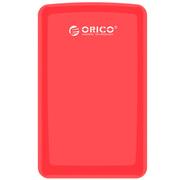ORICO 2579S3 SATA3.0高速2.5英寸USB3.0移动硬盘盒 SATA/SSD 红色