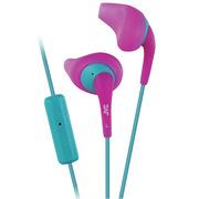 JVC HA-ENR15 粉色 为运动而生 色彩缤纷的 糖果运动线控通话耳机