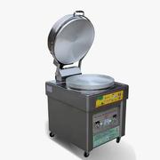 乐创 LC-KBJ01 煤气 燃气烤饼炉 不锈钢燃气烤饼机 烙饼机