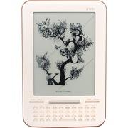 艾利和 Story K 电纸书阅读器 6英寸E-ink墨水屏 轻薄电子书支持多种办公文件阅读 棕色