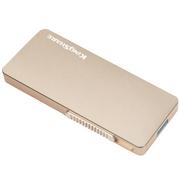 金胜 T5系列 128G便携式固态移动硬盘 金色 (KS-T5128G)