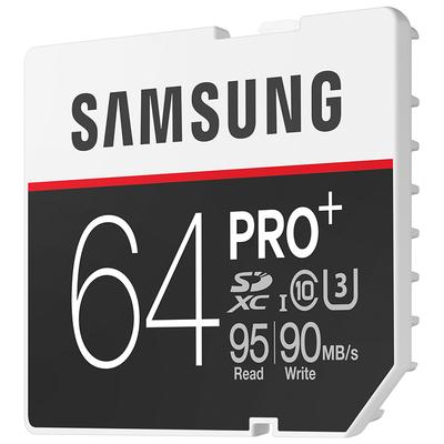三星 64GB UHS-1 Grade 3(U3) Class10 SD存储卡(读速95MB/s)专业版+产品图片3