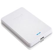 纽曼 星云 1TB 液压平衡滚轴系统 防震 安全 稳定 快速 2.5寸 USB3.0 超薄 移动硬盘 皓月白