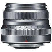 富士 XF35mm F2.0 R WR  标准定焦镜头 复古造型 全天候设计 大光圈小体积 扫街挂机必备 银色