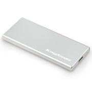 金胜 S8系列 120G TYPE-C USB3.0固态移动硬盘 银色 (KS8120S)