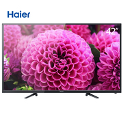 海尔 LE42A20 42英寸流媒体纤薄窄边框全高清LED液晶电视(黑色)