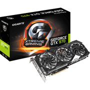 技嘉  GV-N970XTREME-4GD GTX 970 1190-1342 MHz/7100MHz 4GB/256bit GDDR5 显卡