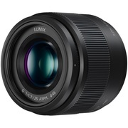松下 H-H025-K 25mm F1.7 标准定焦镜头 (黑色)