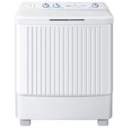 海尔 XPB80-187BS 家家爱 8公斤半自动双缸洗衣机  全塑外观  搅拌波轮