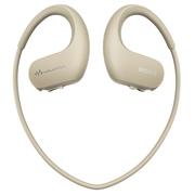 索尼 可穿戴式运动防水音乐播放器 WS413 (乳白色)
