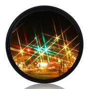 天气不错 星光镜 58mmStar-6 特效6线水字星芒镜 夜景滤镜 适合佳能尼康等单反微单相机镜头