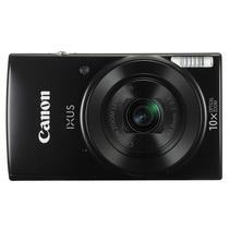 佳能  IXUS 180数码相机(约2000万有效像素  24mm广角 10倍光学变焦)黑色产品图片主图