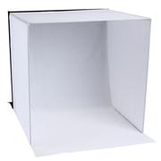 天气不错 摄影棚柔光棚 柔光灯箱亮棚柔光箱 50CM 送四色植绒背景布