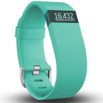 Fitbit Charge HR 智能乐活心率手环 心率实时监测 自动睡眠记录 来电显示 运动蓝牙手表计步器 蓝青色 L产品图片主图