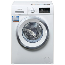 西门子  XQG80-WM12N2R00W 8公斤 变频 滚筒洗衣机 低噪音 防过敏功能 一键自清洁(白色)产品图片主图