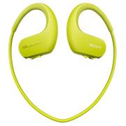索尼 可穿戴式运动防水音乐播放器 WS414 (柠檬绿)