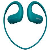 索尼 可穿戴式运动防水音乐播放器 WS414 (蓝色)