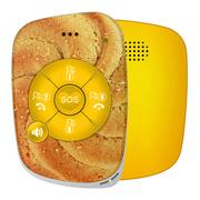 爱牵挂 曲奇 老人智能安全预警器 精准定位跌倒判定行动轨迹运动睡眠监测老年人极简通话手机 蛋黄酥