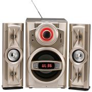 金正 A093 迷你音响 音响 2.1声道 电脑音箱 组合音响蓝牙音响(金色)
