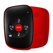 爱牵挂 曲奇 老人智能安全预警器 精准定位跌倒判定行动轨迹运动睡眠监测老年人极简通话手机 经典红