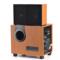 金正 SH508 迷你音响 音响 2.0声道 电脑音箱 组合音响(木色)产品图片3