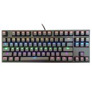 凯酷 87 LED 荣耀2代 黑色 混光背光机械键盘 游戏键盘 茶轴