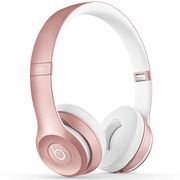 Beats Solo2 Wireless 头戴式耳机 - 玫瑰金色   蓝牙无线 带麦