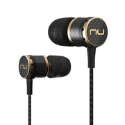 Nuforce NE-800 入耳式耳机 碳纤维机体黄铜导管 黑色