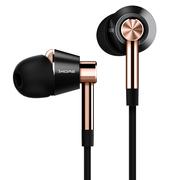 1MORE 三单元圈铁耳机PHD2 金色 性价比HIFI耳机