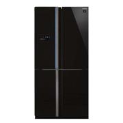 夏普 SJ-FS79VA-BK 600L风冷无霜十字对开门冰箱 (黑色)