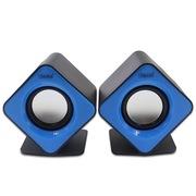 蓝色妖姬 S30 2.0迷你音响便携USB低音炮套装组合音箱 蓝色