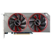 镭风 R7-350 悍甲蜥Twin-1GD5 1098MHz/5400MHz 2048M/128bit GDDR5 PCI-E 游戏显卡产品图片主图