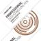 威高 D-10123 土豪金配色 专业金属材质 除尘镜头笔单反清洁毛刷镜头清洁笔产品图片3