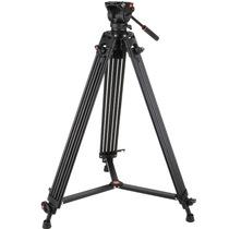 科漫(COMAN) KX3636 摄像机铝合金三脚架1.8米液压阻尼云台广播广电专业级录像架产品图片主图