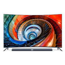 小米 电视3S 65英寸 曲面电视产品图片主图