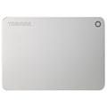 东芝 CANVIO Premium 2TB 2.5英寸 USB3.0移动硬盘 金属银