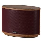 欧乐司 AW1010 Wood 木质无线蓝牙立体声音箱 高端触控式多媒体低音炮音响 红色