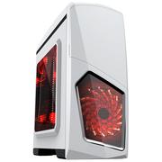 AOC S651/W 机箱 白色 原生USB3.0/全兼容SSD/专用散热侧透板