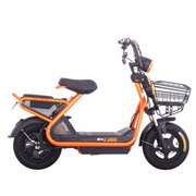 爱玛 铅酸电动车 极酷系列 极酷MC TDT449Z 48V 20A时尚代步滑板车 珠光橙/亚黑/黑